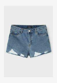 LMTD - Denim shorts - light blue denim - 3