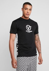 Vans - DISTORT PERFORMANCE  - Print T-shirt - black - 0