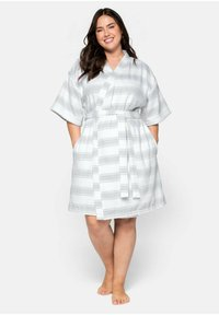 Sheego - Dressing gown - gestreift - 1