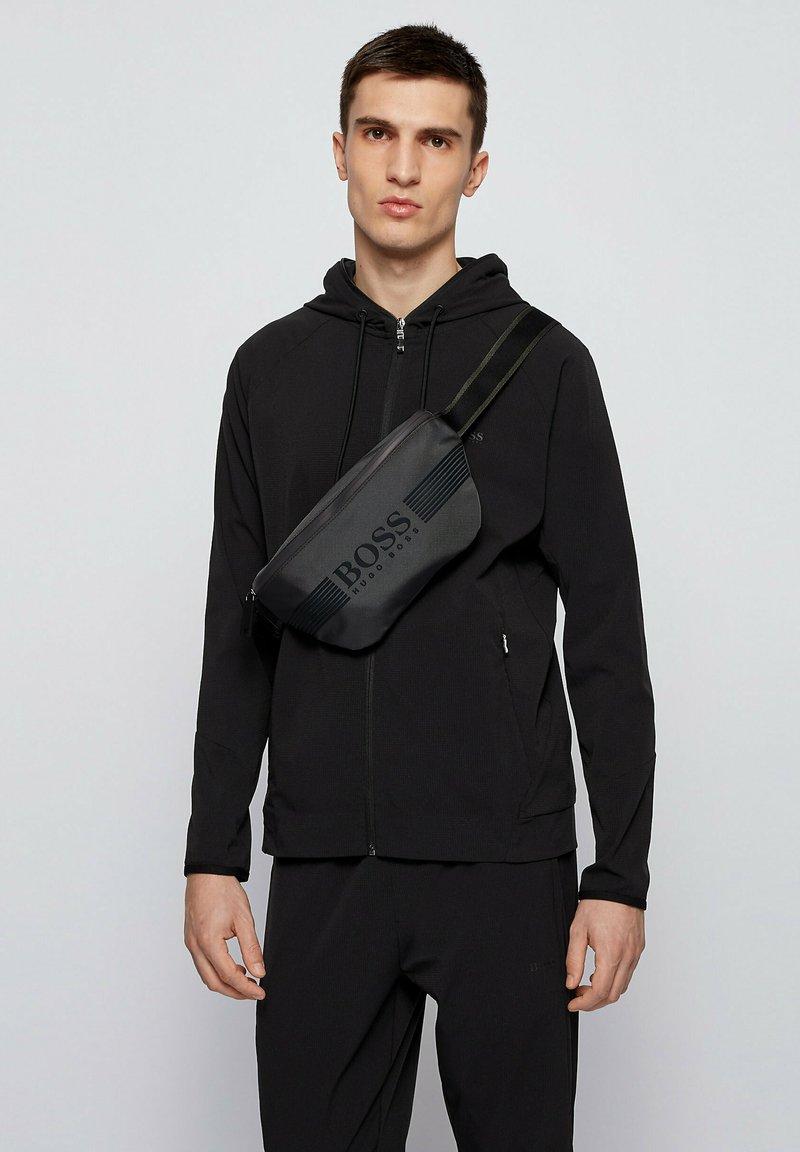 BOSS - Bum bag - dark grey