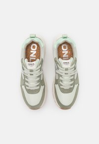 ONLY SHOES - ONLSYLVIE - Sneakersy niskie - mint - 5