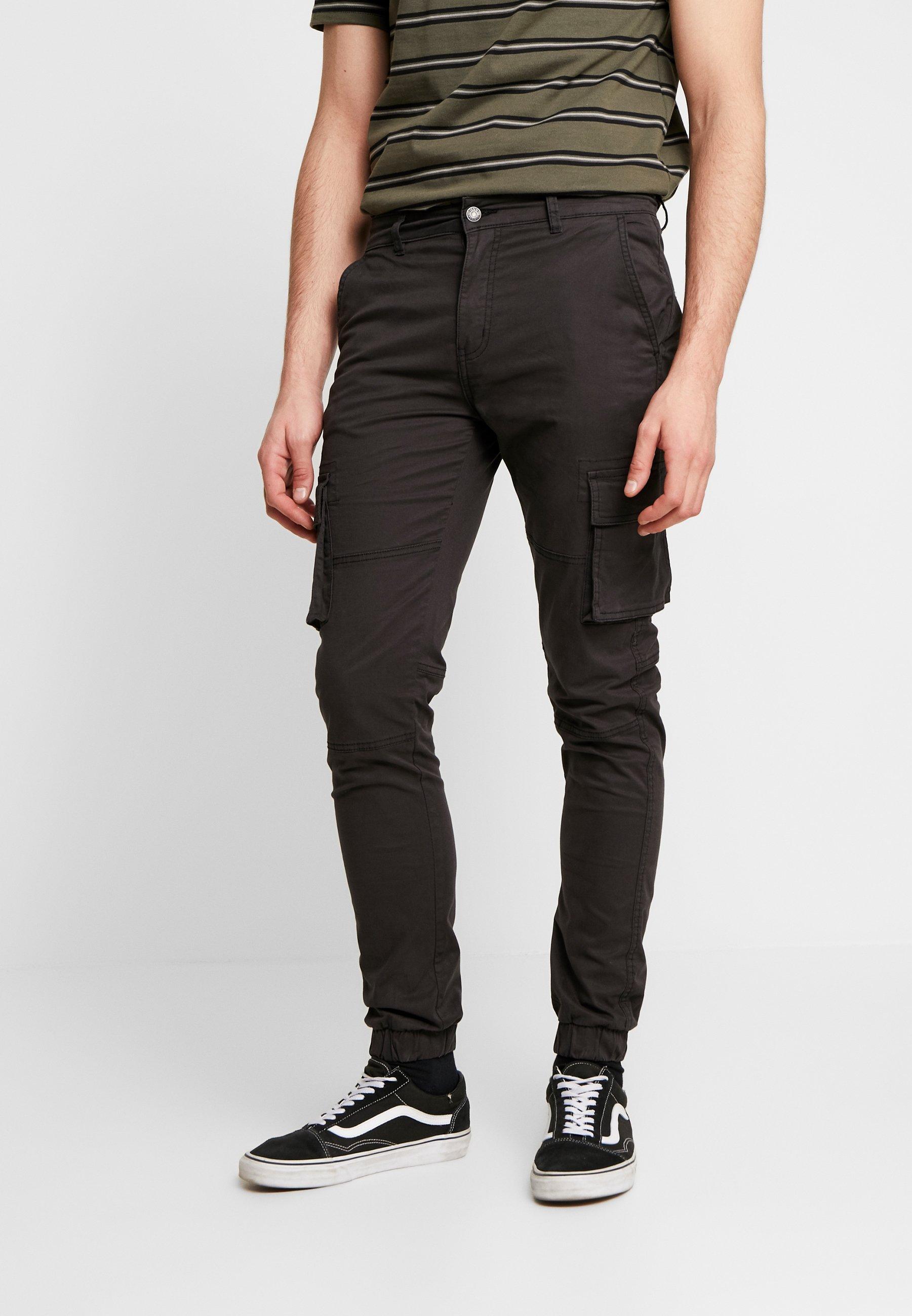 Men CARGO PANT PLAIN - Cargo trousers