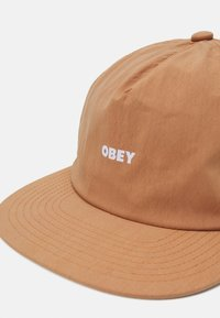Obey Clothing - WARFIELD STRAPBACK UNISEX - Lippalakki - gallnut - 3