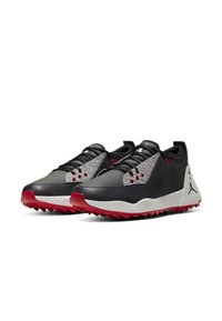 Nike Golf - JORDAN ADG 2 - Golf shoes - black/summit white/university red/black - 3