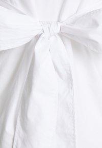 MAMALICIOUS - MLCAROLINA MIX  - Top sdlouhým rukávem - bright white - 2