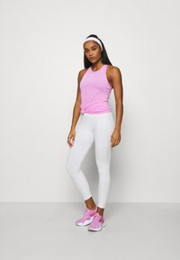 Nike Performance - TANK ALL OVER  - T-shirt sportiva - beyond pink/white - 1