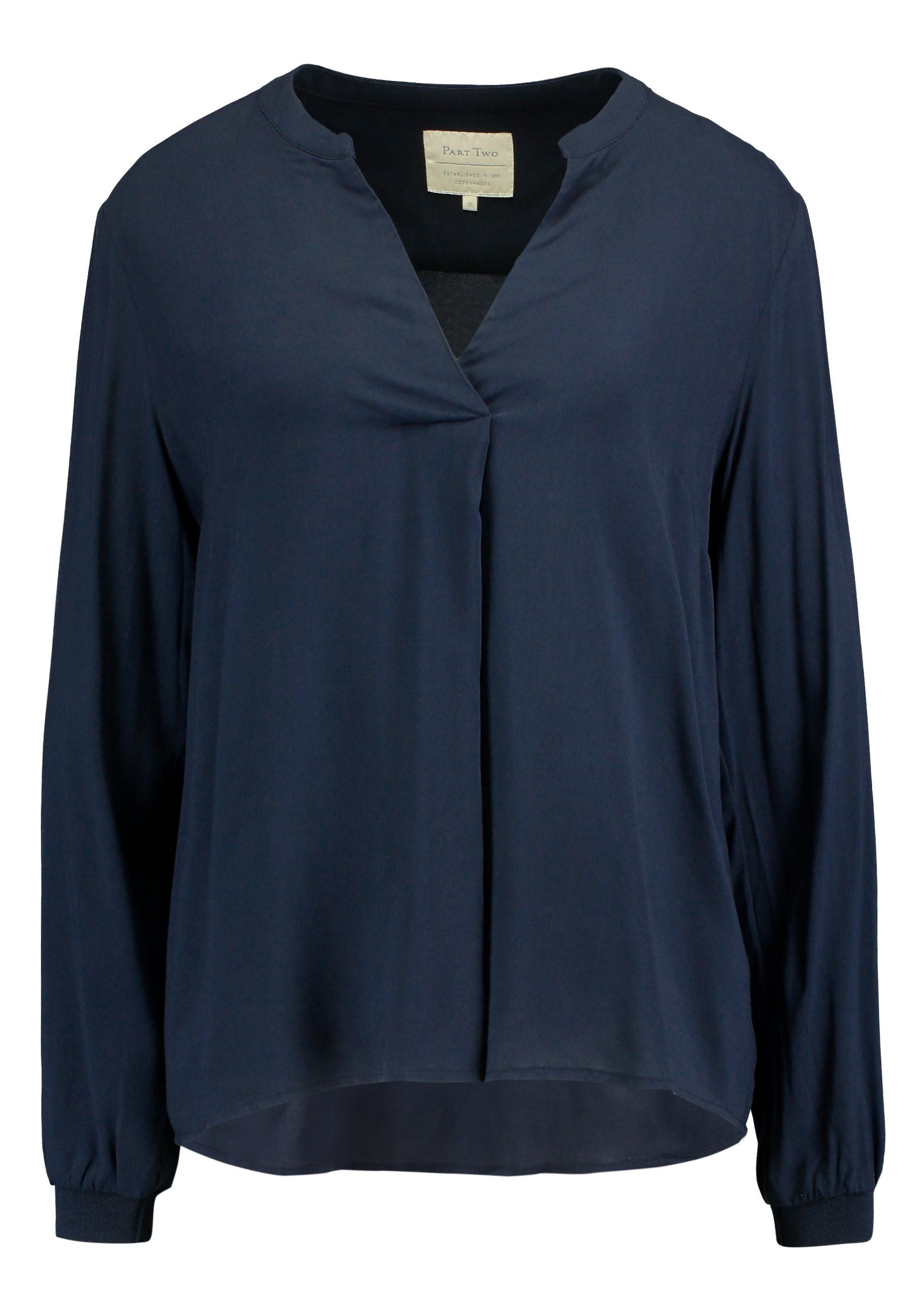 Black NIKA blouse  Part Two  Bluser - Dameklær er billig