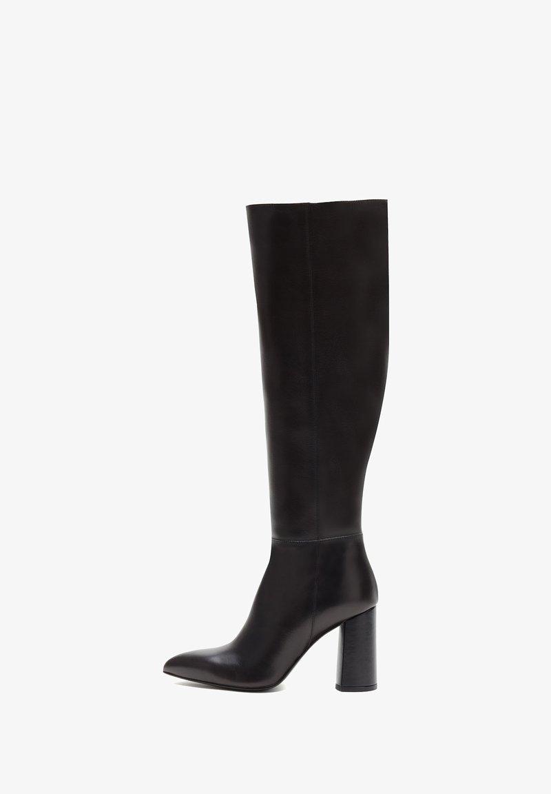 PoiLei - AMALIA - Laarzen met hoge hak - schwarz