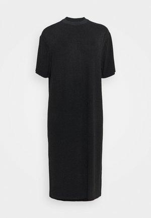 MIRA DRESS - Jersey dress - black