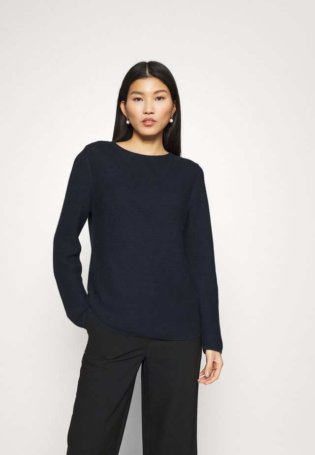 LONGSLEEVE SMALL LINKED - Maglione - night sky