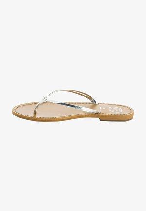 TOBIRA  - T-bar sandals - silver