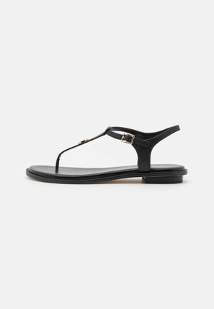 MALLORY THONG - T-bar sandals - black