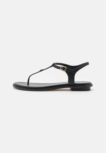 MALLORY THONG - Sandály s odděleným palcem - black