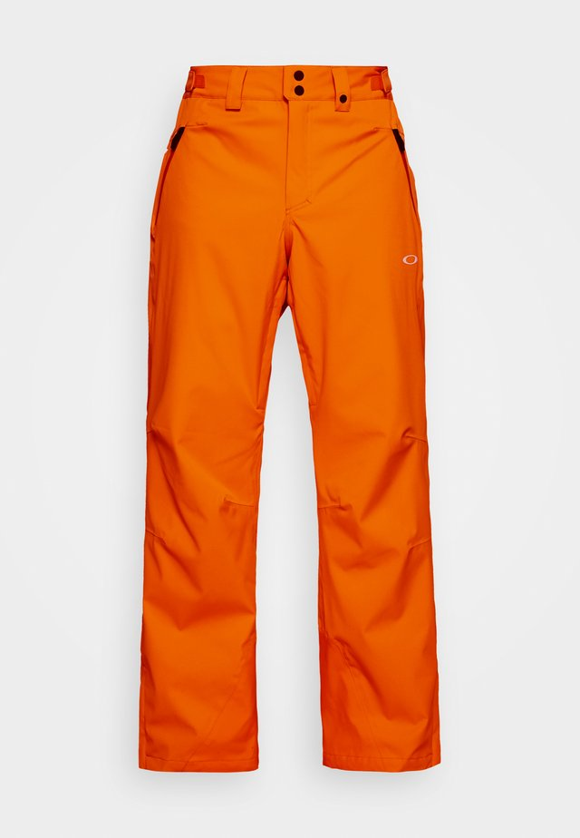 CRESCENT SHELL PANT - Täckbyxor - bold orange