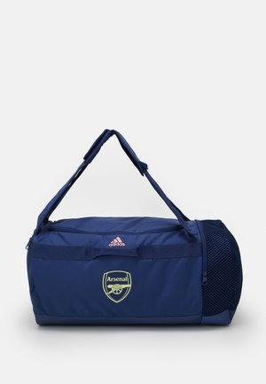 ARSENAL FC SPORTS FOOTBALL DUFFEL BAG - Sporttasche - tech indigo/glow pink/yellow tint