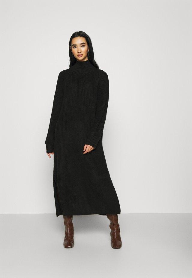 KEAN DRESS - Jumper dress - black dark