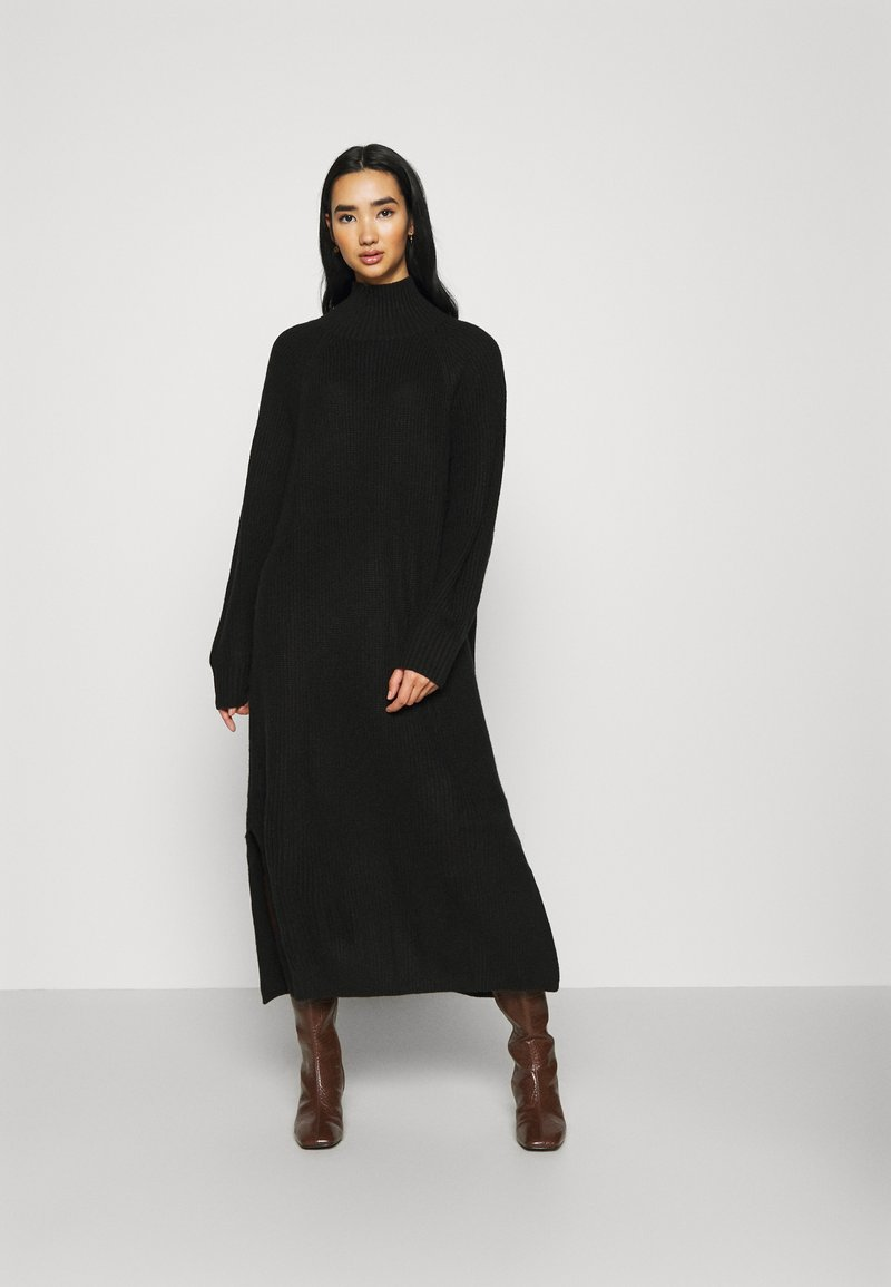Monki - KEAN DRESS - Jumper dress - black dark