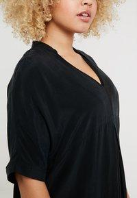 Live Unlimited London - MANDARIN COLLAR DRESS - Day dress - black - 4