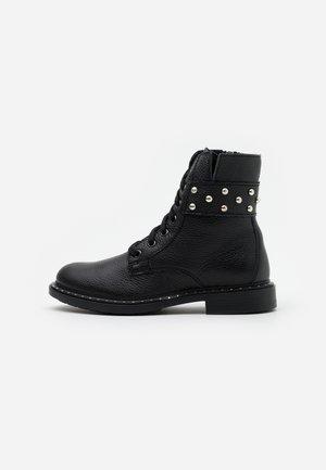 PIAC - Lace-up ankle boots - black