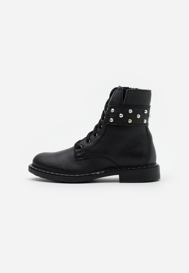 PIAC - Lace-up ankle boots - black