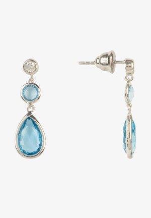 Earrings - bleu