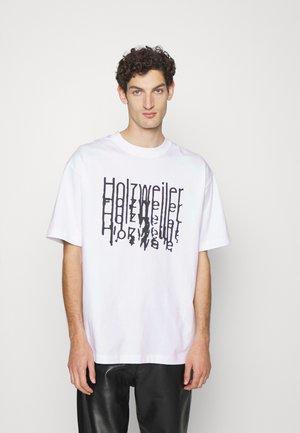 CANDOR TEE - Print T-shirt - white
