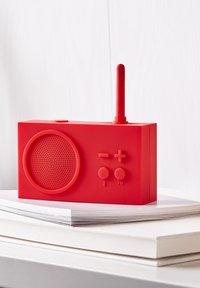 Lexon - Radio - rot - 4