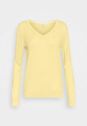 SWEATER  - Jumper - light yellow