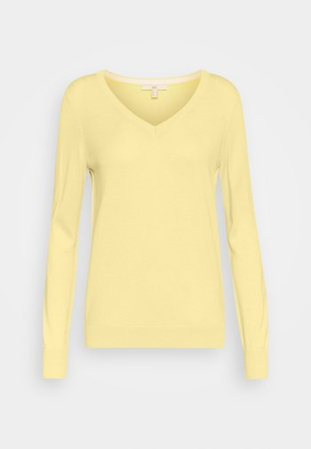 SWEATER  - Sweter - light yellow