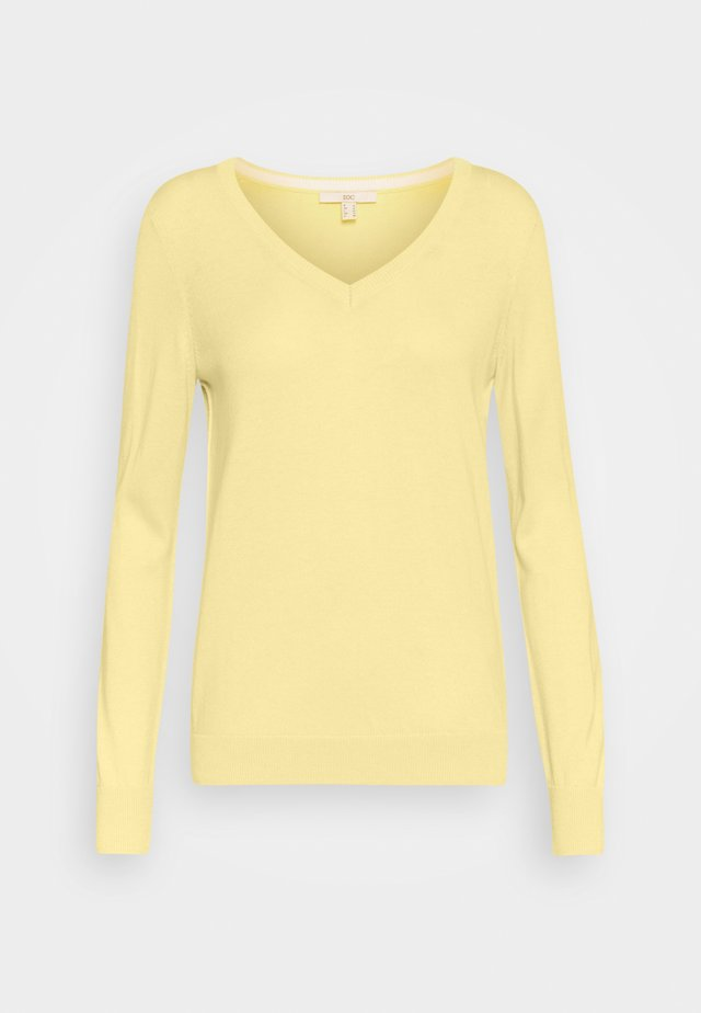 SWEATER  - Sweter - light yellow