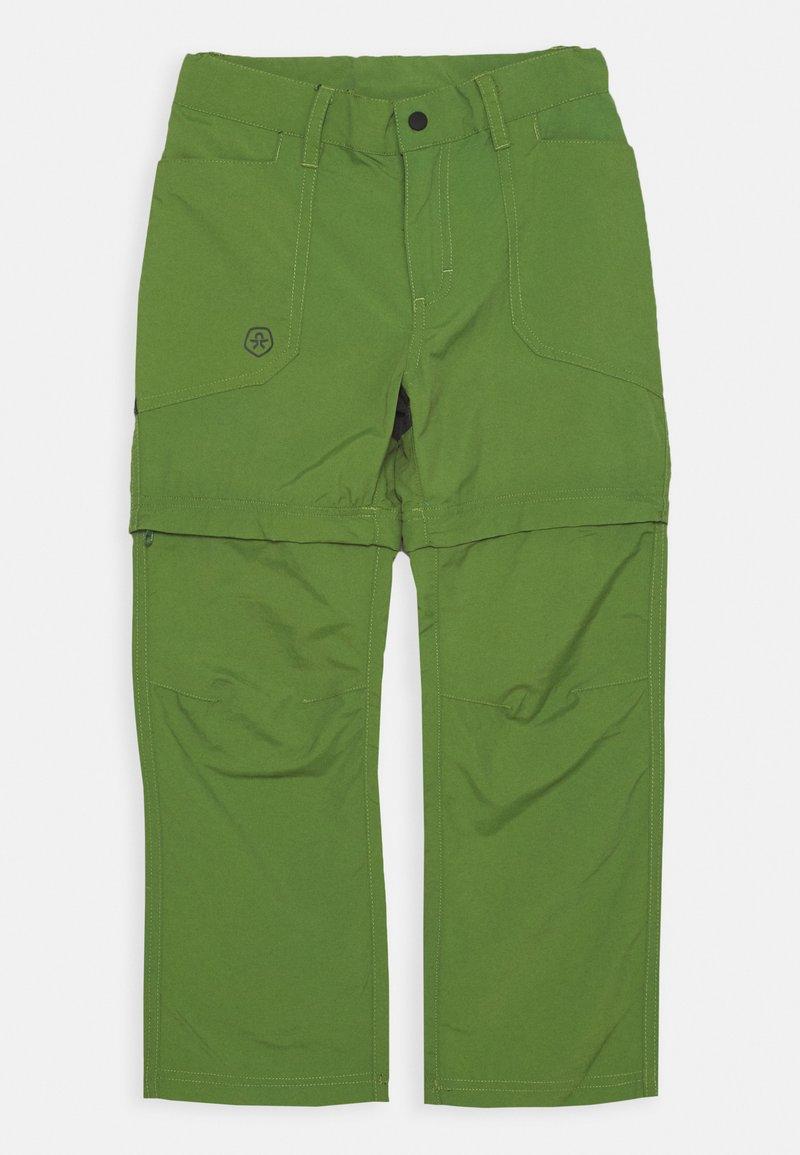 Color Kids - 2-IN-1 ZIP OFF UNISEX - Outdoor trousers - cactus