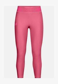 Under Armour - ANKLE CROP - Leggings - pink lemonade - 0
