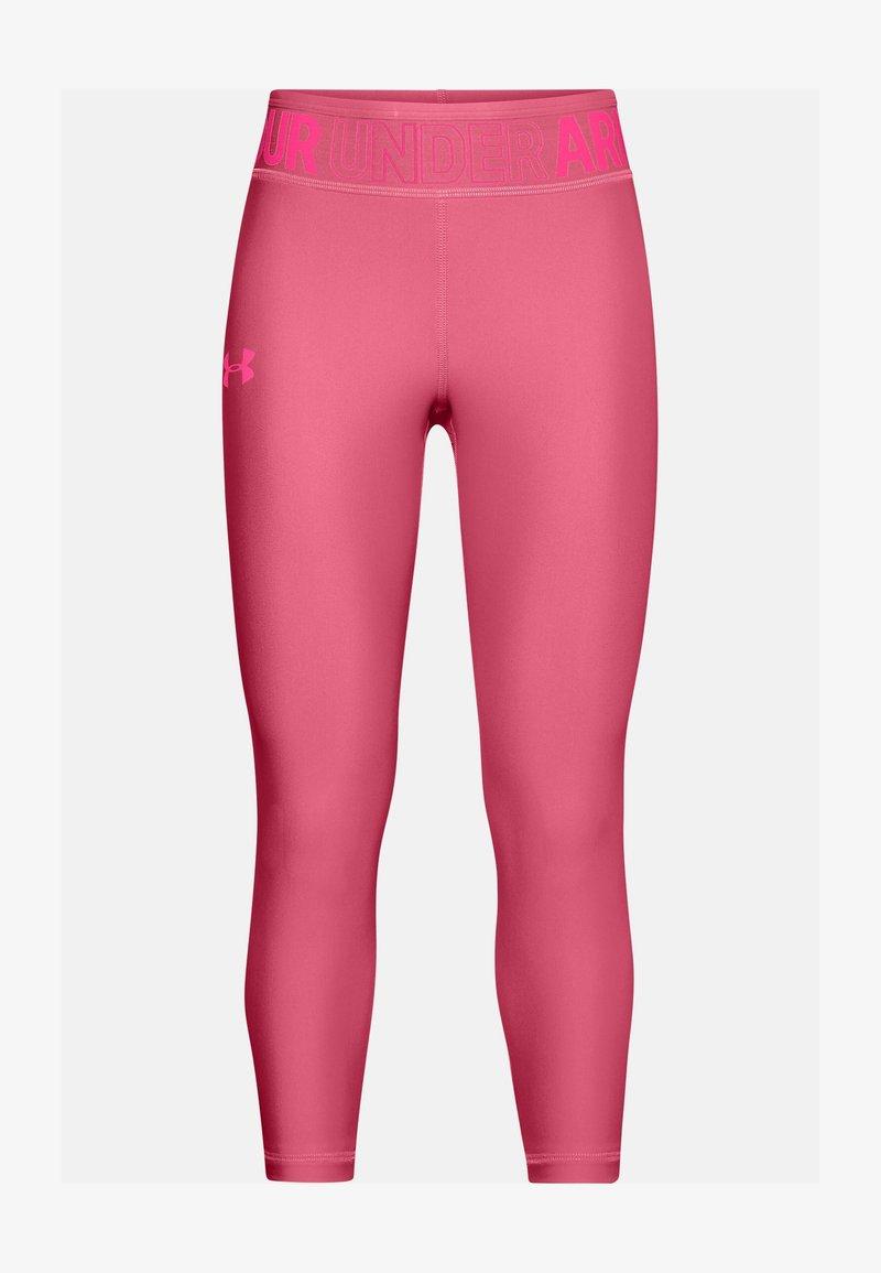 Under Armour - ANKLE CROP - Leggings - pink lemonade