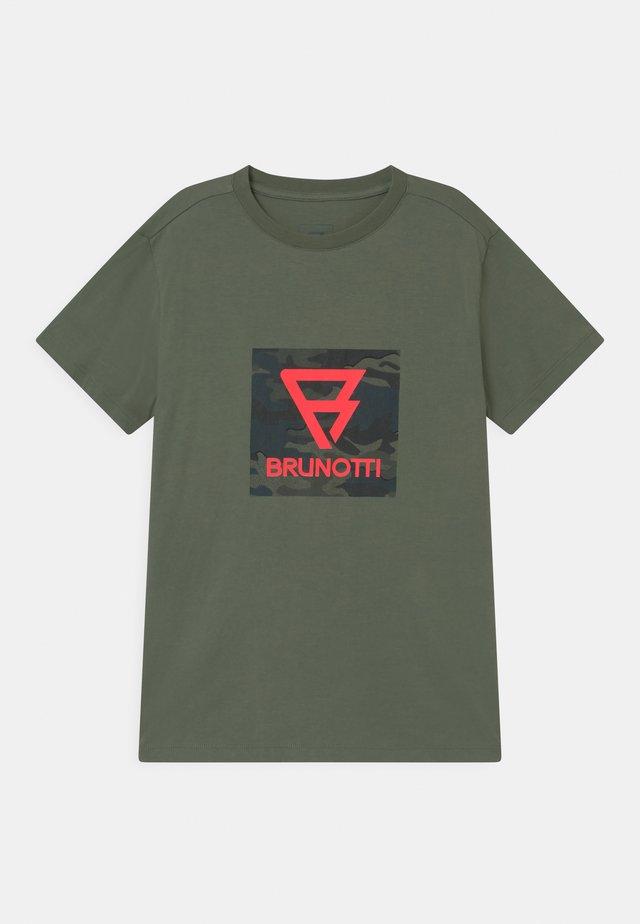 TIM - T-shirt print - vintage green