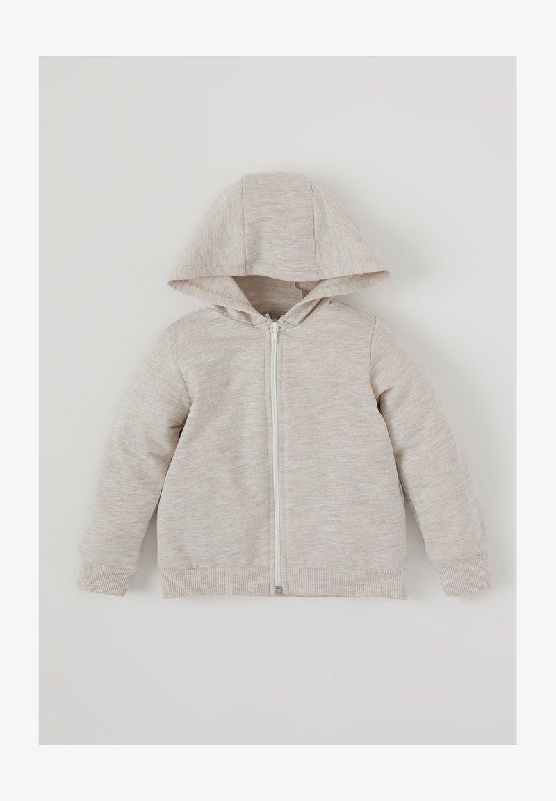 DeFacto - Zip-up sweatshirt - ecru