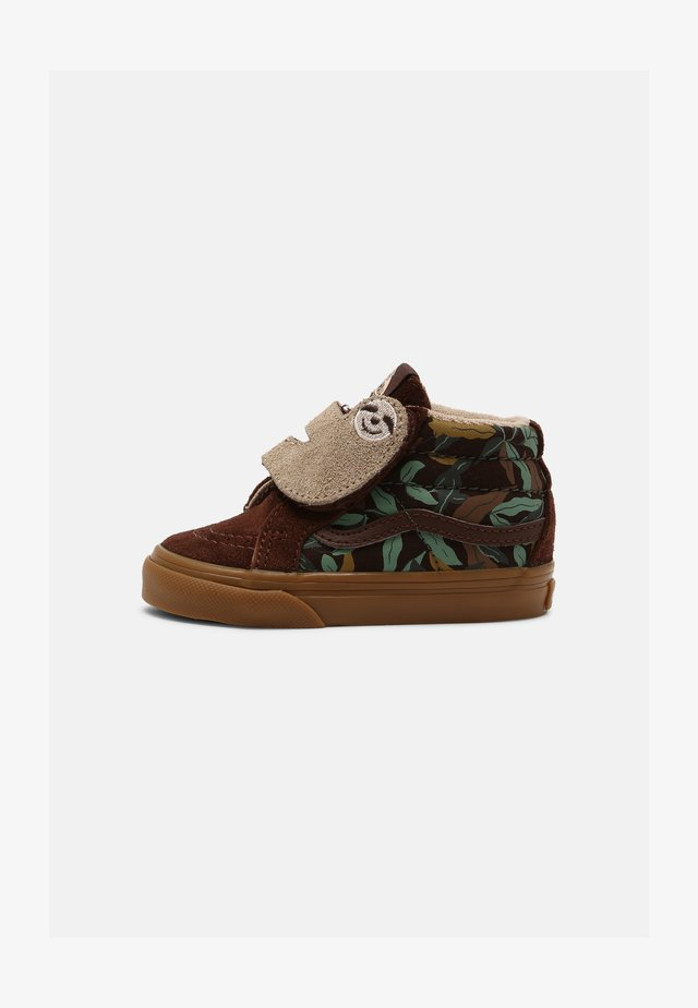 SK8-MID SLOTH REISSUE V UNISEX - High-top trainers - potting soil/classic gum