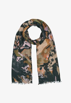 Scarf - brown/black