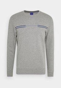 JORLOGANS CREW NECK - Felpa - light grey melange
