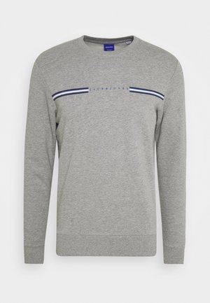 JORLOGANS CREW NECK - Bluza - light grey melange
