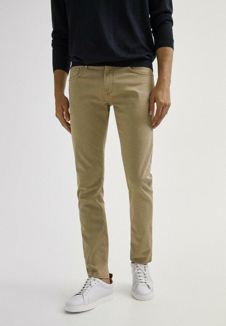 Men MIT FISCHGRÄTENMUSTER  - Slim fit jeans