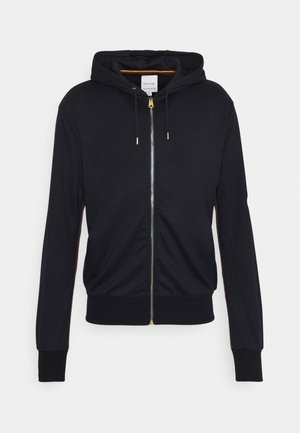 GENTS ZIP THROUGH TAPED SEAMS HOODY - Mikina na zip - navy