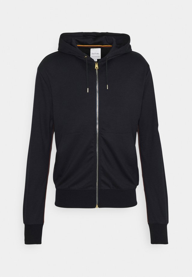 GENTS ZIP THROUGH TAPED SEAMS HOODY - Zip-up hoodie - navy