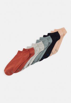 ESSENTIAL SNEAKER 10 PACK UNISEX  - Socks - almost apricot melange