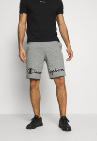Champion - BIG LOGO BERMUDA - Pantalón corto de deporte - grey - 0