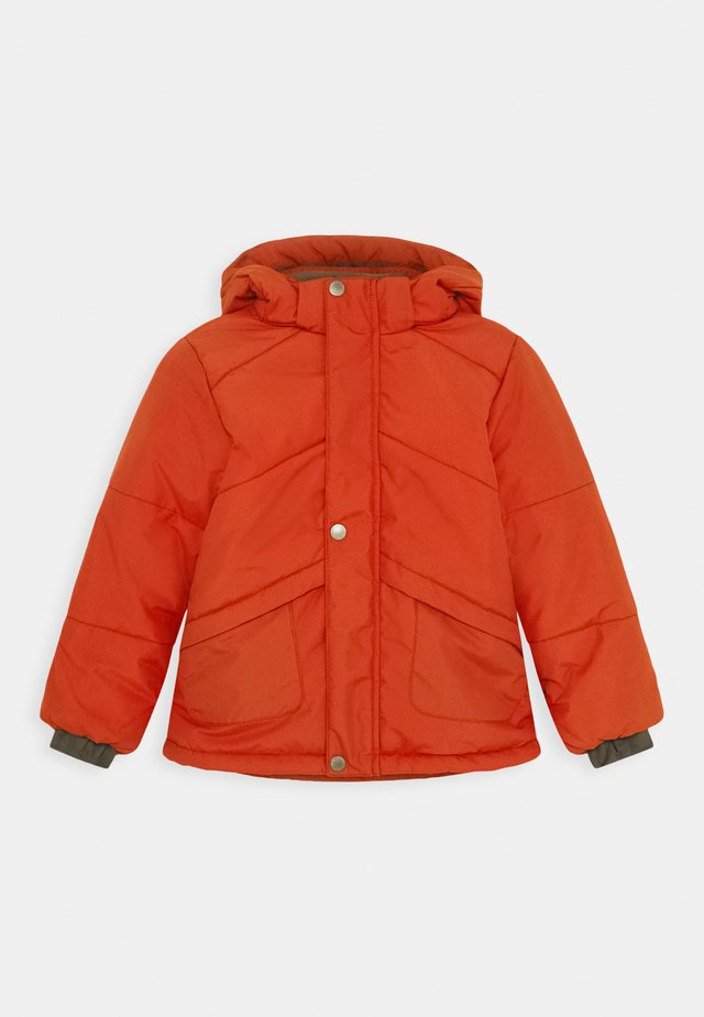 WELI JACKET - Vinterjakker - rooibos tea orange
