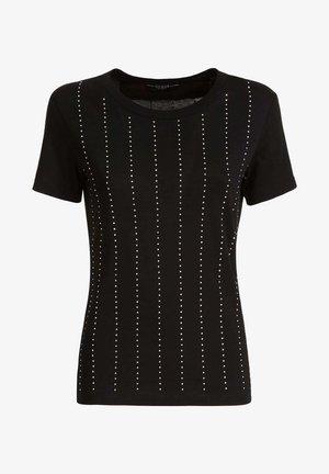 STRASS - T-shirt con stampa - schwarz