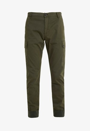 MILITARY JOGGER - Cargo trousers - lime
