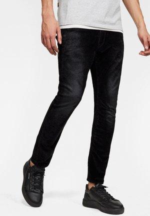 D-STAQ 3D SLIM - Jeans slim fit - black iced flock
