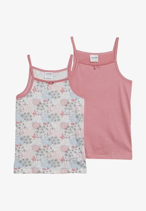 VEST FLOWERS 2 PACK - Undershirt - pink