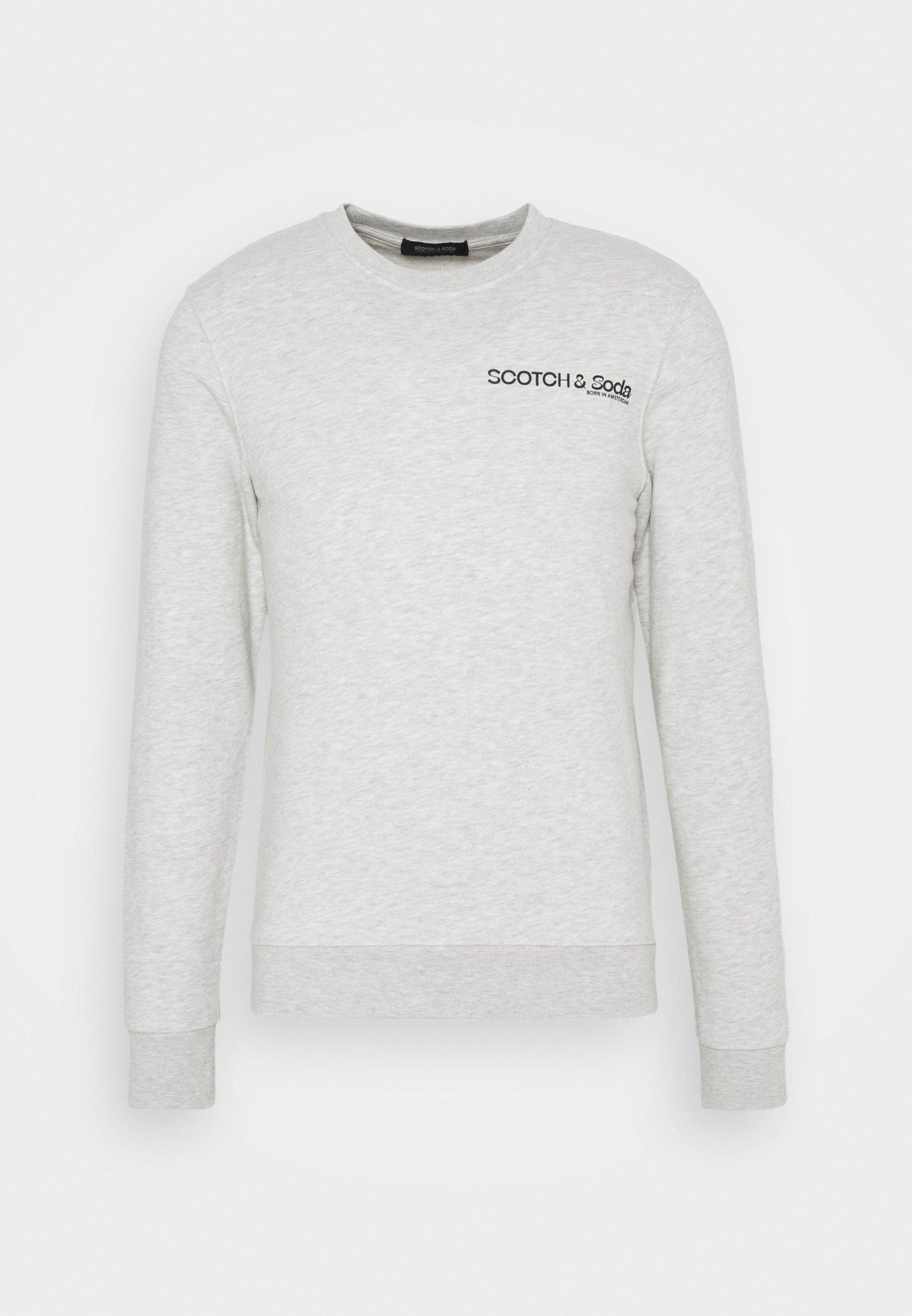 Men CREW NECK LOGO - Sweatshirt